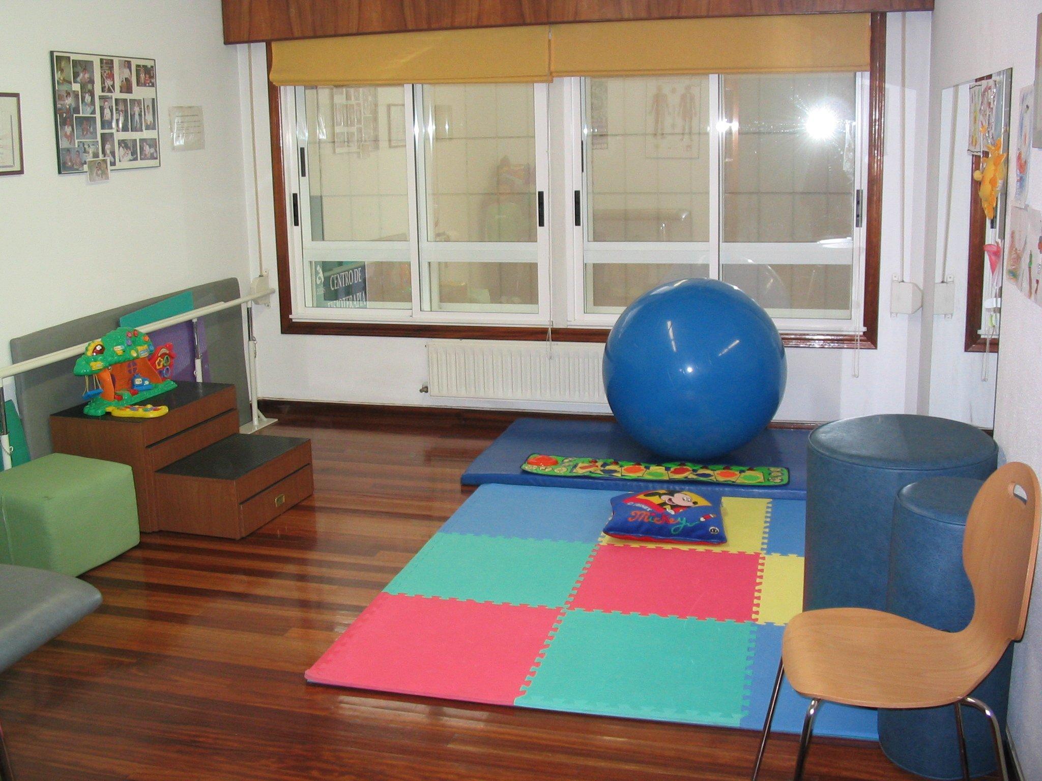 Sala de neurología infantil y pediatría